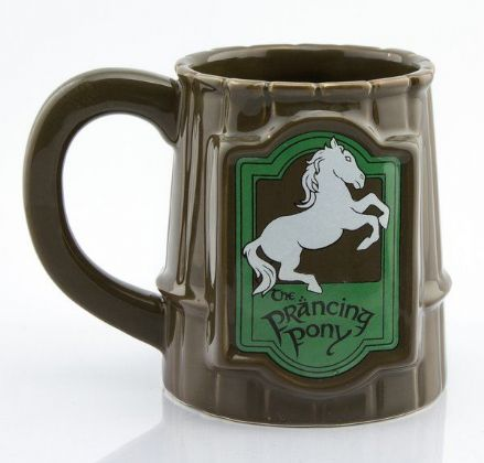 Lord of the Rings 3D Prancing Pony Stein Mug